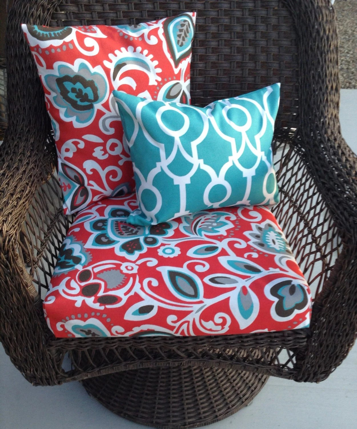 outdoor chair cushion covers cover hire lancashire uk replacement furniture pillow etsy image 0