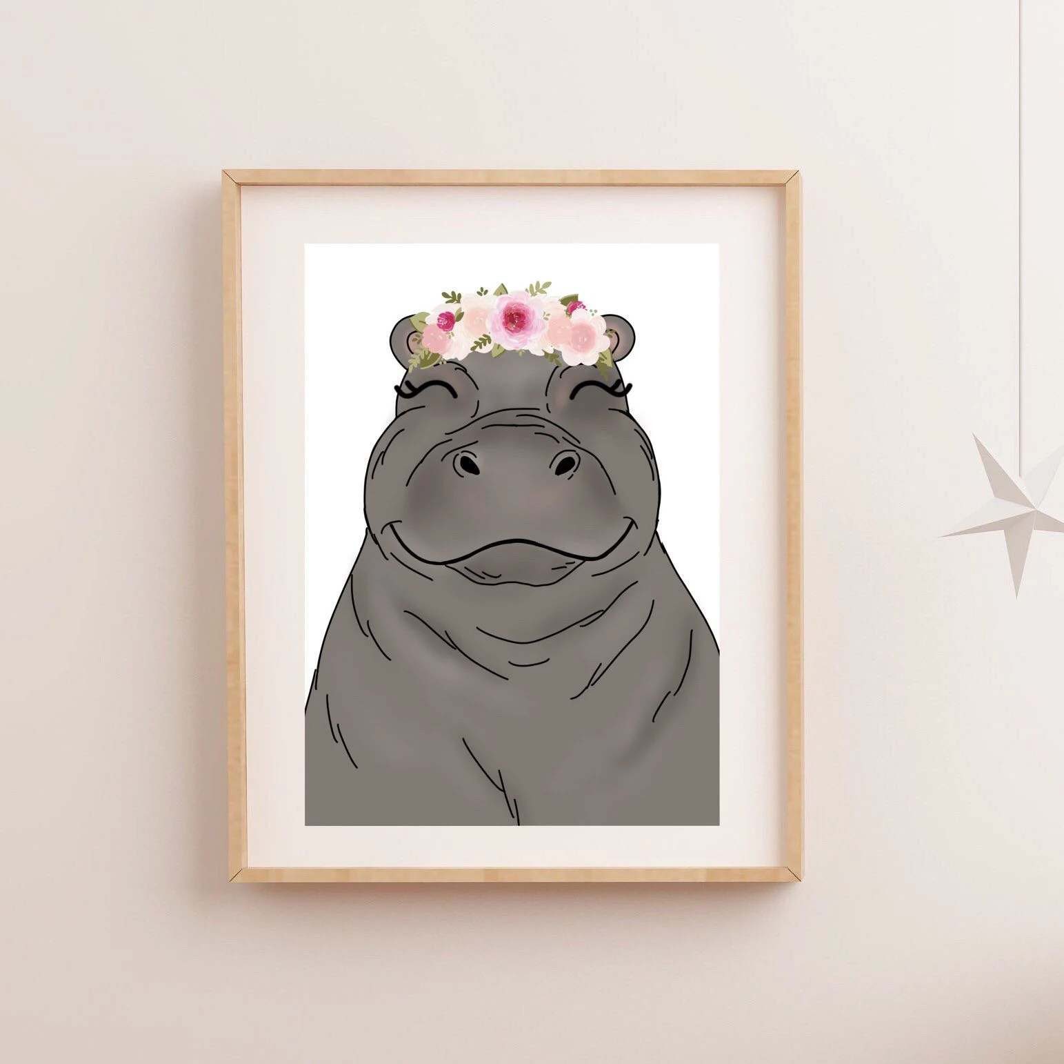 Metaverse Art H Is For Hippo Canvas Wall Art Jcpenney | iltribuno.com