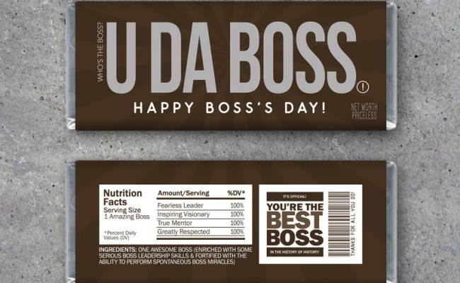 Boss S Day Gift Printable Happy Bosses Day Candy Bar Etsy