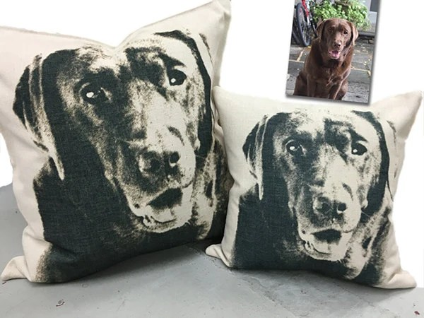 outdoor dog pillow etsy
