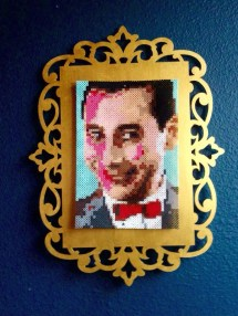Pet Portrait Perler Bead - Year of Clean Water