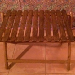 Georgia Chair Company Covers Wedding Canada Items Similar To Take Along Travel Co Of Thomasville Slatted Wood Portable Folding Table Or Luggage Rack On Etsy