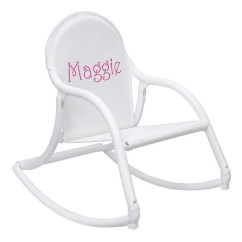 Personalized Rocking Chair For Toddlers Big Round Living Room Kids Etsy All White Childrens That Folds And Is 100 Watersafe To Use Wherever They Want