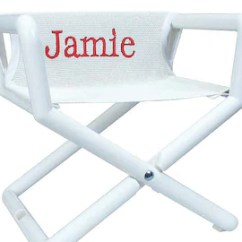 Personalized Kids Chair Vinyl Covers For Recliners With Name Etsy Director That Travels Anywhere Fitting Any Decor And Perfect A Or Monogram In Color
