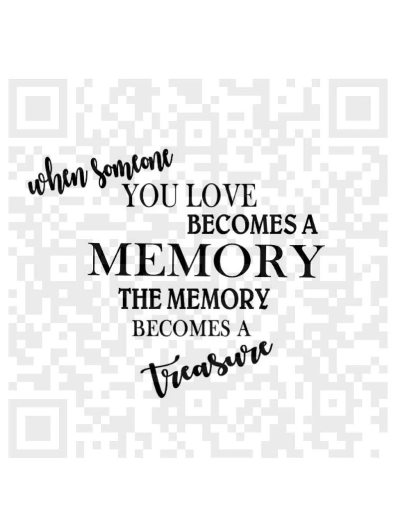 Download When someone you love becomes a memory SVG Memorial quote ...