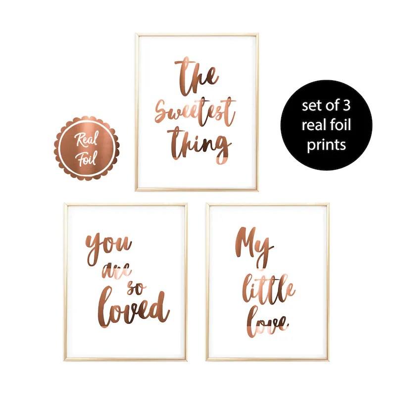 quote print copper foil
