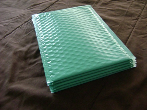 6x9 Teal Bubble Mailer Seal Adhesive Envelop