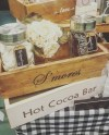 S Mores Bar Station For Wedding Rustic S Mores Box Etsy