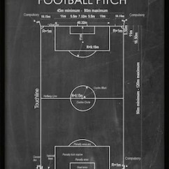 Football Pitch Diagram To Print Wiring Diagrams For Trailers 7 Wire Vintage Field American Etsy Soccer Design World Cup Single 831 Instant Download