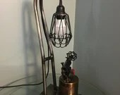Blow-torch Lamp