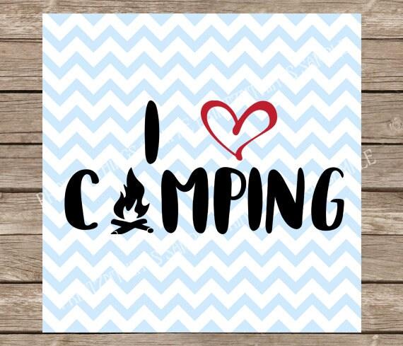 Download Camping svg I Love Camping svg I Heart camping svg camp   Etsy