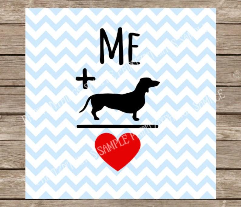 Download Dachshund Dachshund svg Dog Dogs Dog svg Heart Love | Etsy