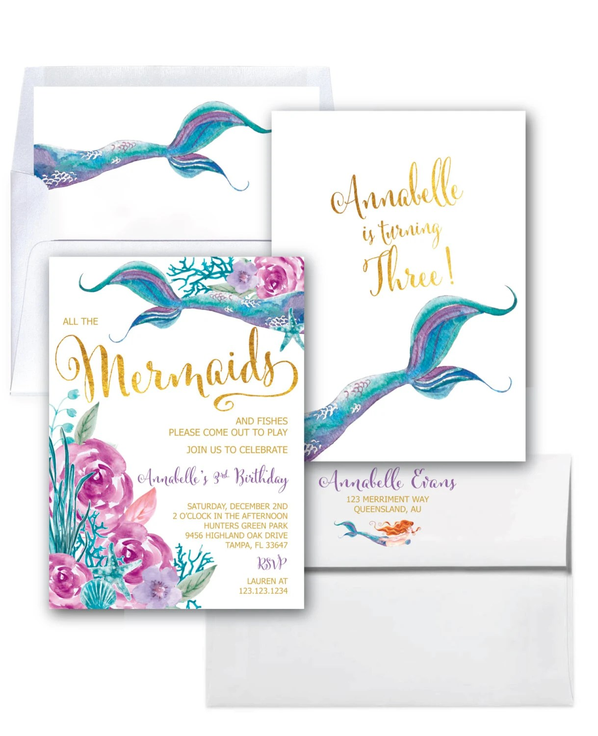 Birthday Invitations Qld