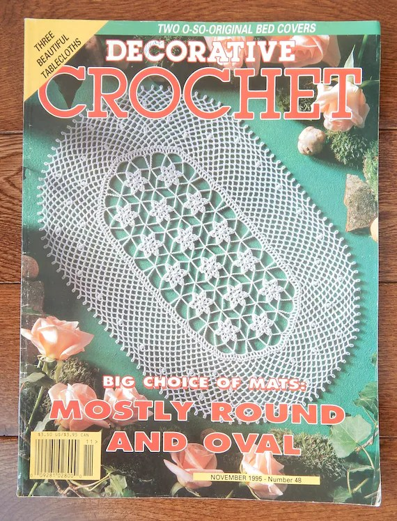 crochet doily patterns with diagram vw transporter t5 wiring w diagrams decorative etsy image 0
