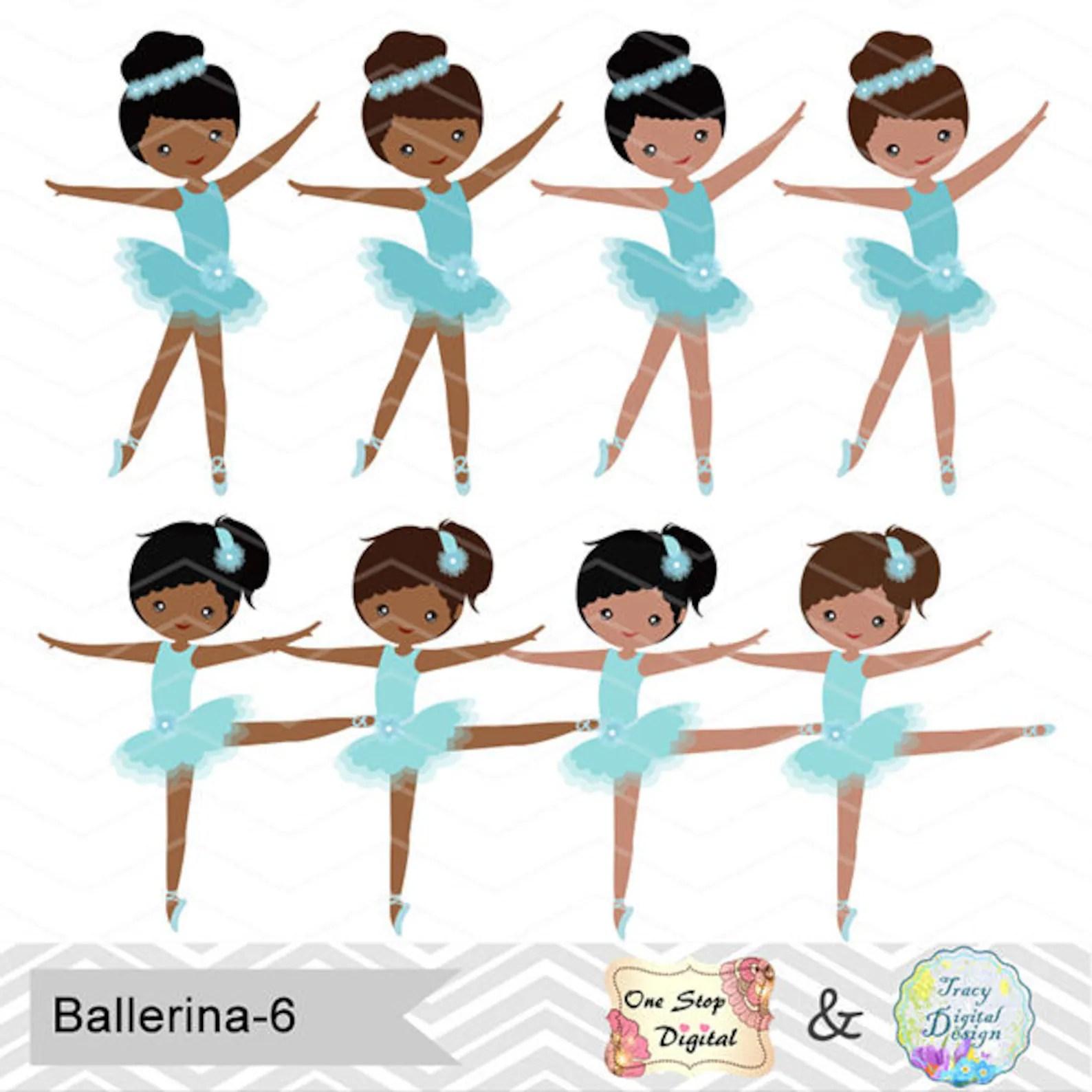 hight resolution of african american ballerina digital clip art ballet clipart blue ballet african american girls clip art