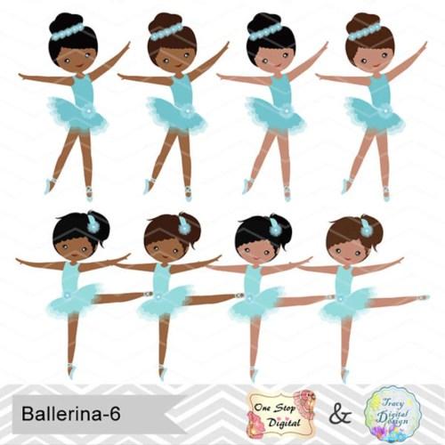 small resolution of african american ballerina digital clip art ballet clipart blue ballet african american girls clip art