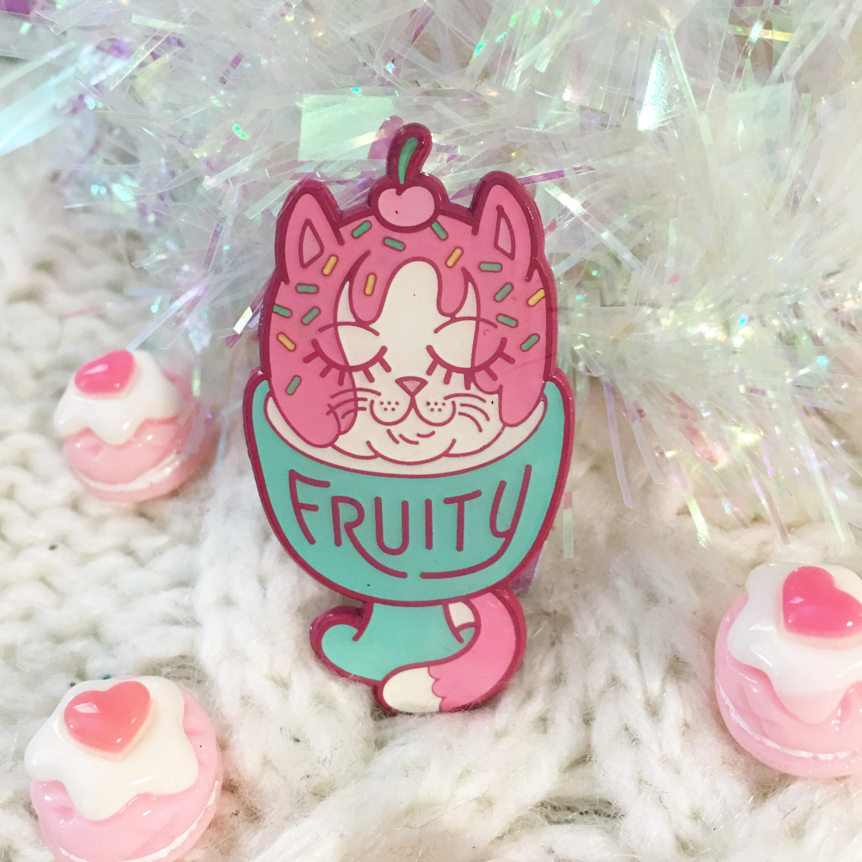 fruity cat sundae sweet