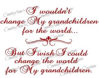 Download Grandchildren svg | Etsy