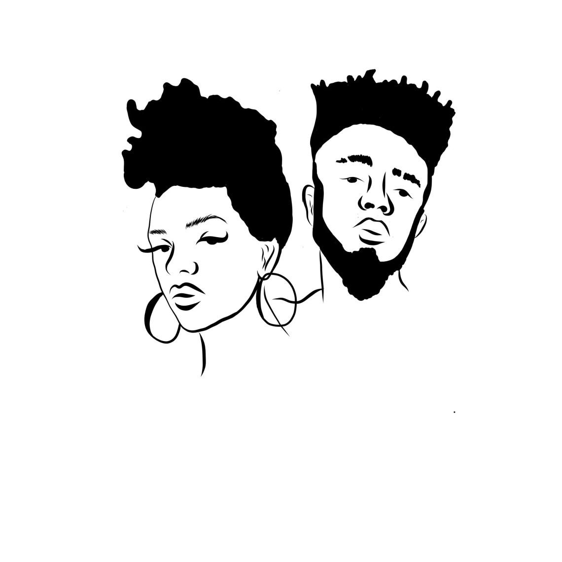 Download Black Couple Love Relationships Black Woman Black Man SVG ...