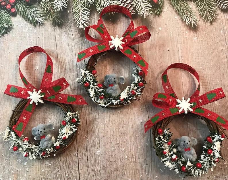 Country Christmas Ornaments Make
