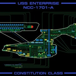 Uss Enterprise Diagram Fox Skeleton Ncc 1701 A Master Systems Display Etsy Image 0