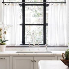 Kitchen Cafe Curtains Why Are Cabinets So Expensive Etsy Linen Sheer Cheesecloth Pinch Pleat Custom Made