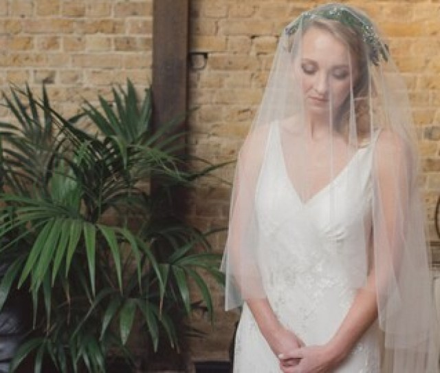 Wedding Veil Two Tier Veil Blusher Veil Simple Veil Champagne Veil Blush Veil Pink Veil  Tier Veil Pippa Middleton Veil Alicia