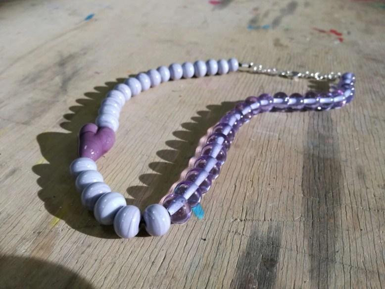 beads necklace Murano gla...