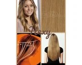 """20"""" long HALO flip in HEXY Medium/dark dirty blonde #18 human remy secret invisible miracle wire hair extensions damage free bespoke circle"""