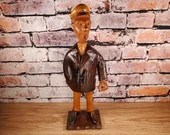 Vintage Romer Made in Italy Hand Crafted Wood Sea Captain