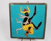 McKusick Porcelain Ceramic Color Corn Dancer Tile 6 Inch