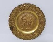 B & H Bertel Thorvaldsen Cast iron Plaque 3559 Ages of Man