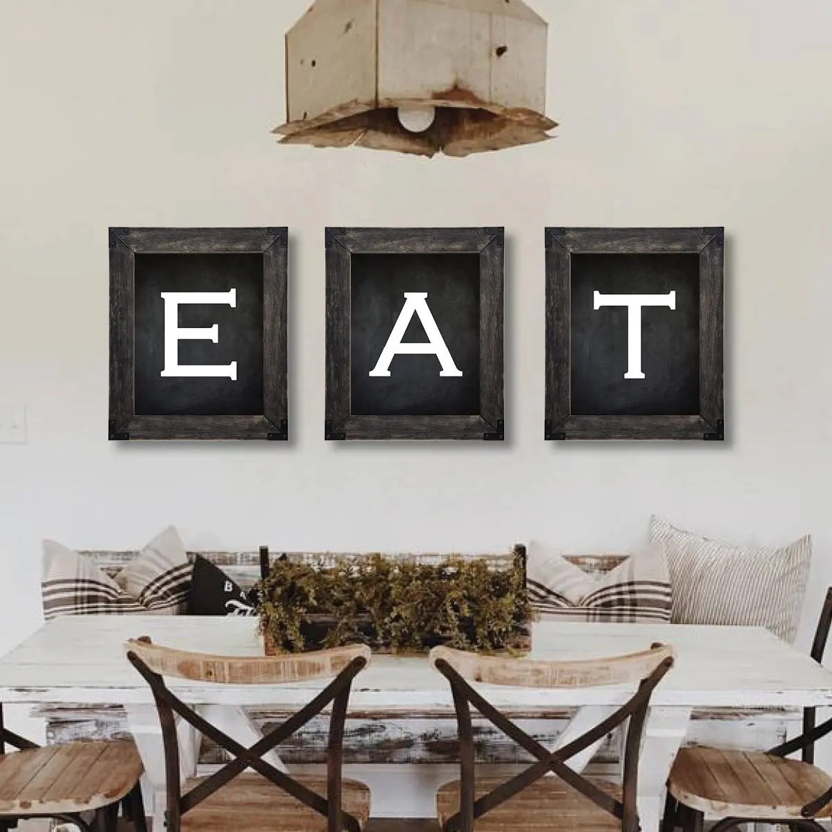 kitchen wall art decor build an outdoor etsy farmhouse eat sign dining room prints 811
