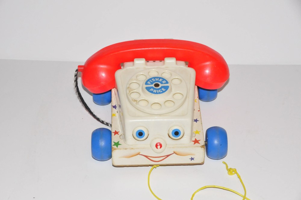 medium resolution of 50 fisher price chatter pull along telephone rotary toy