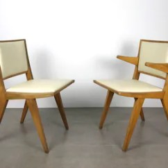 Wooden Chairs Pictures Event Chair Rental Etsy Pair Vintage Modernist By Daystrom 1950 S