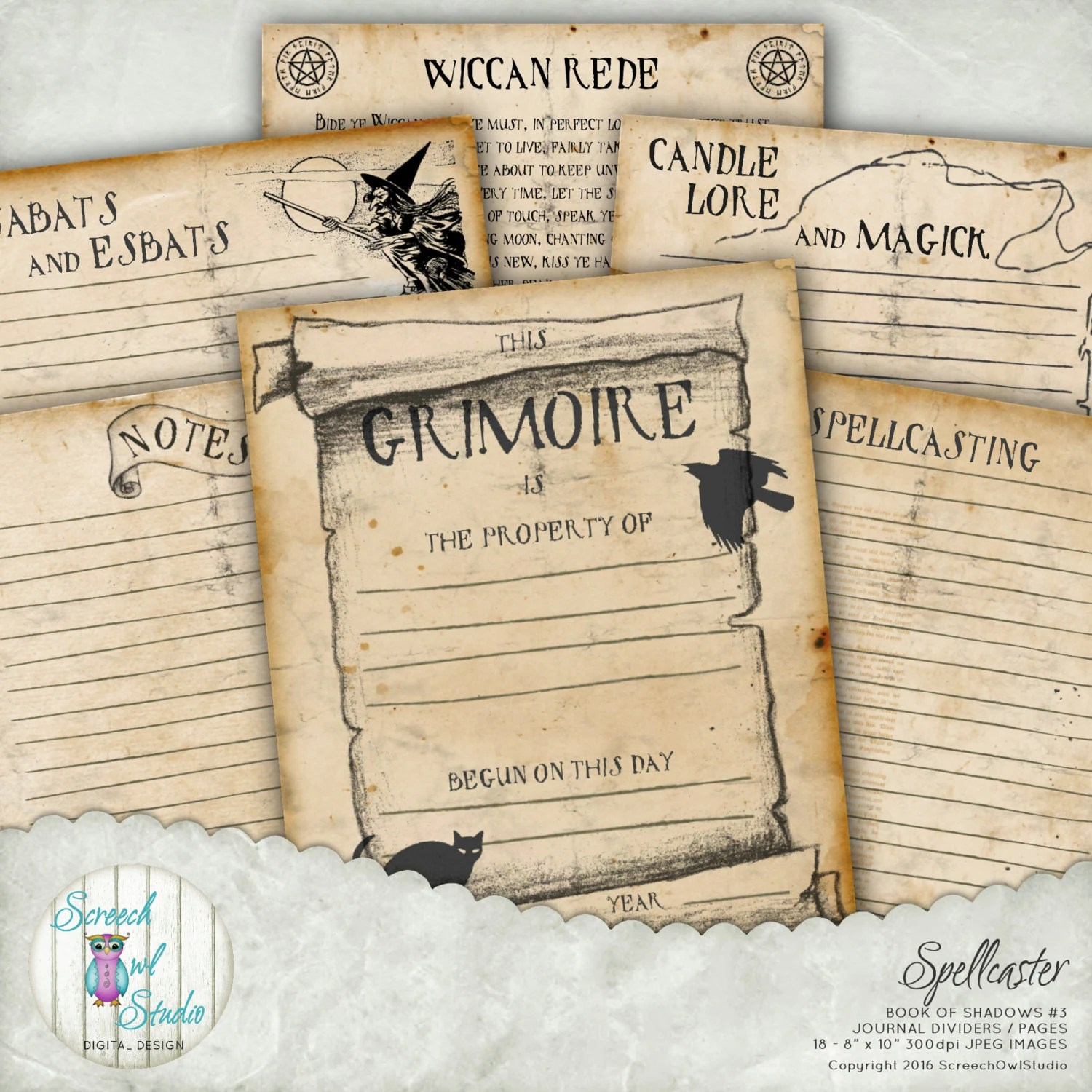 picture relating to Free Printable Book of Shadows Pages named Totally free E book Of Shadows Web pages