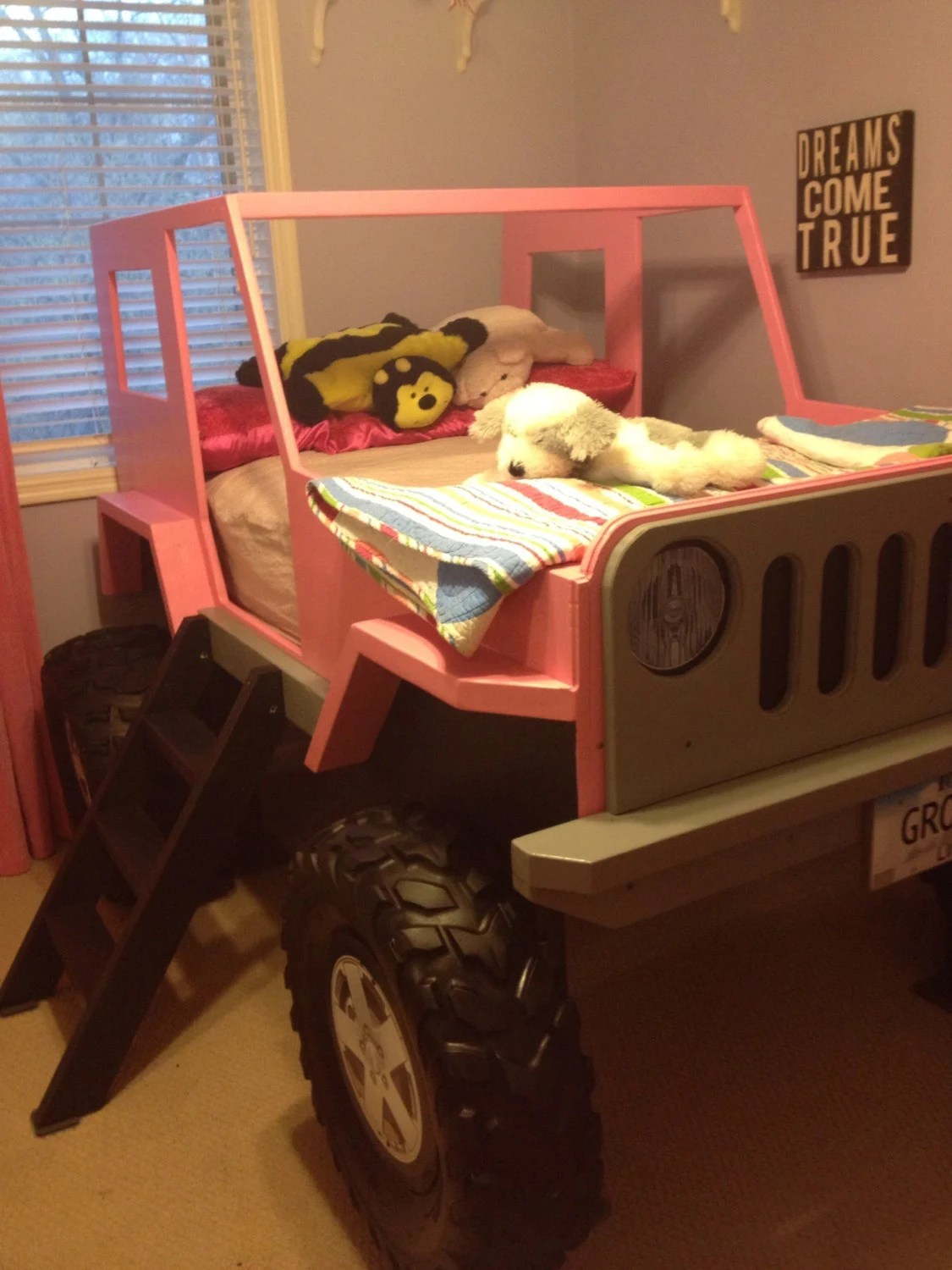Jeep Car Bed : Plans