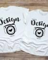 Couple Shirts Mockup Etsy