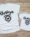 Family Blank White T Shirt Gildan 500 Bella Canvas 3001t Etsy