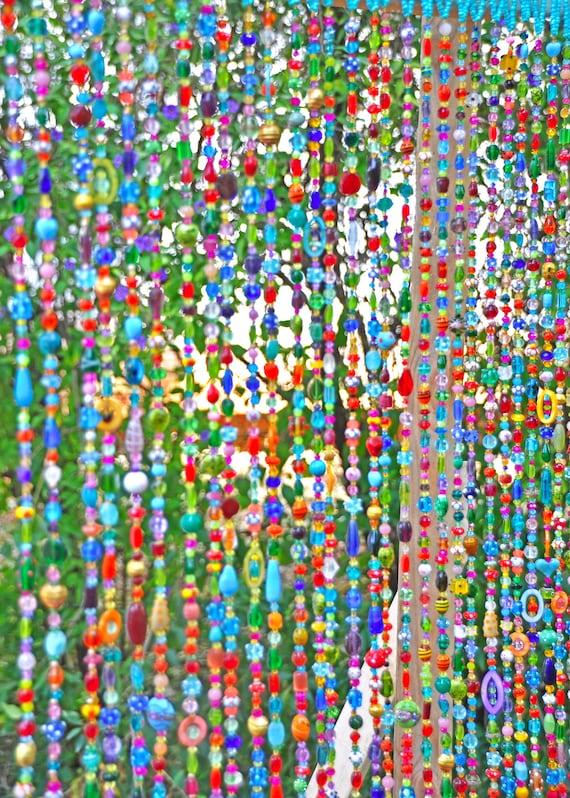 rideau perle verre perle suncatcher rideau de fenetre rideau de porte perle perles de porte de pendaison rideau de boho rideau de soleil perle