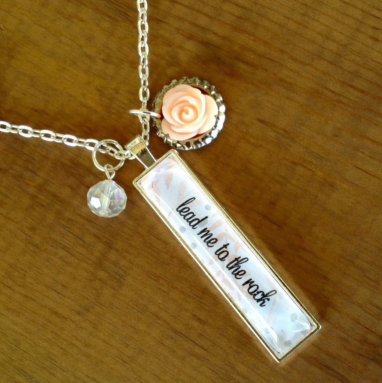 bible verse necklace personalized