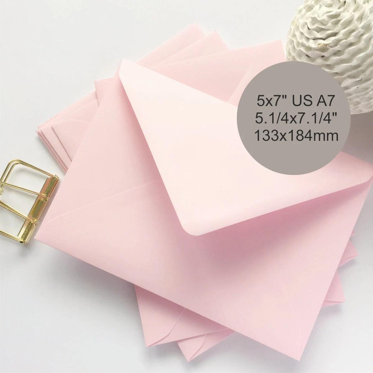 5x7 envelopes etsy