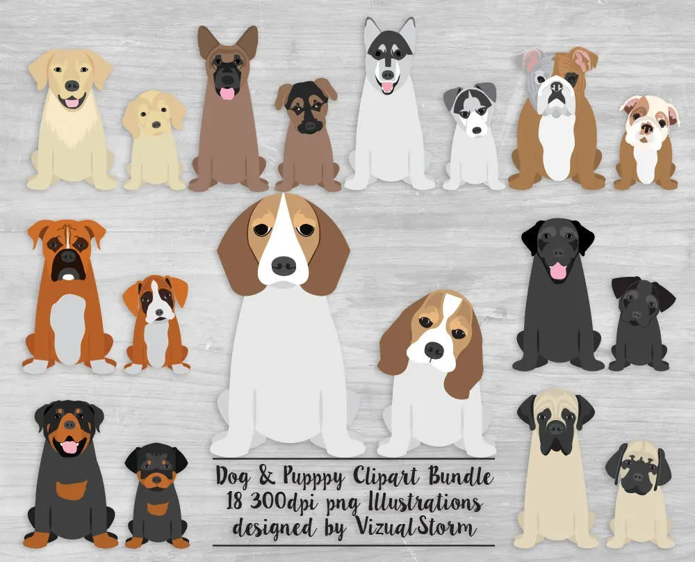 medium resolution of dog butts clipart 2 funny dog graphics pet clipart labrador retriever min pin shiba inu doberman