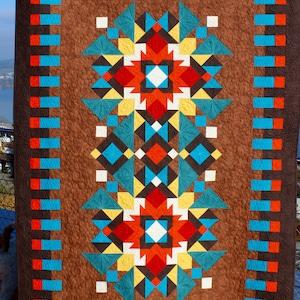southwest quilt pattern navajo inspired