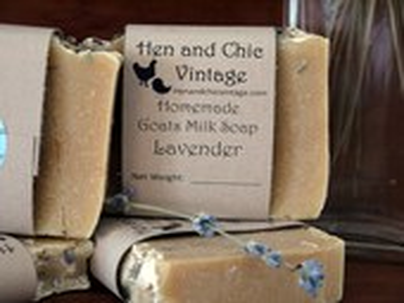 Handmade Lavender Goat&#3...