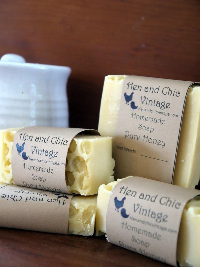 Handmade Pure Honey Soap ...