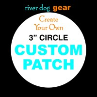 Design Your Own Custom 3 Circle Embroidered Patch | Etsy