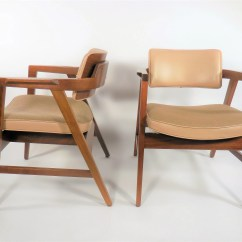 Wh Gunlocke Chair Swivel For Vanity Etsy Mid Century Armchairs By Norman Cherner
