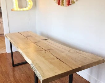 Narrow Dining Table Etsy