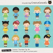 kids clipart children boy
